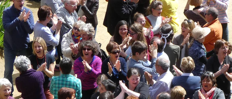 Journée mondiale du rire le 1/5/16 à St-Georges des 7 voies